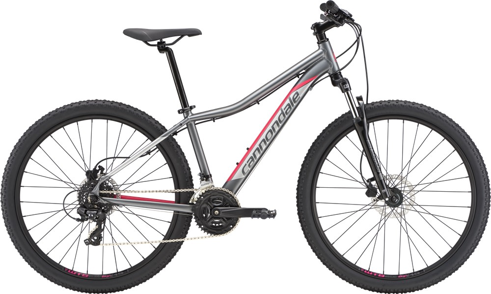 Велосипед Cannondale Foray 2 (серый, 2019)