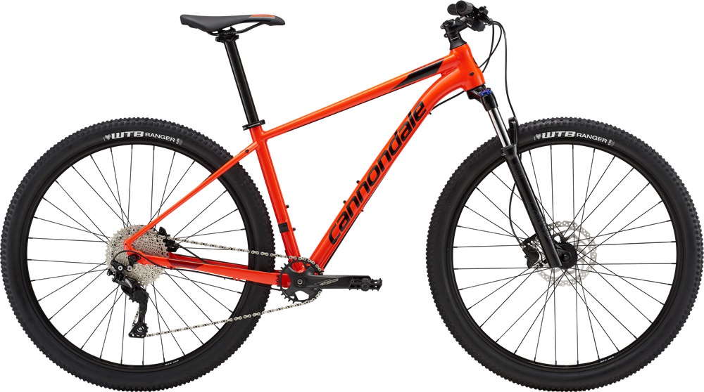 Велосипед Cannondale Trail 5 27.5 (красный, 2019)