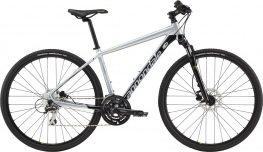 Велосипед Cannondale Quick CX 4 (серый, 2019)