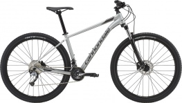 Велосипед Cannondale Trail 6 27.5 (серебристый, 2019)